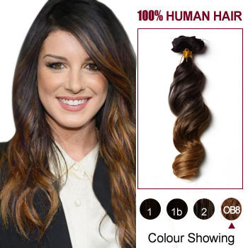 20 two colors 2 and 27 wavy ombre indian remy clip in hair 20 inches two colors 2 and 27 wavy ombre indian remy clip in hair pmusecretfo Image collections